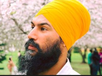 Jagmeet Singh formally announced his nomination for the Burnaby South riding
