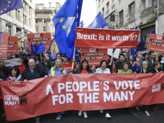 UK's Labour opposition says it might back new Brexit vote