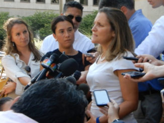 Freeland returning to NAFTA talks Friday in quest for compromise