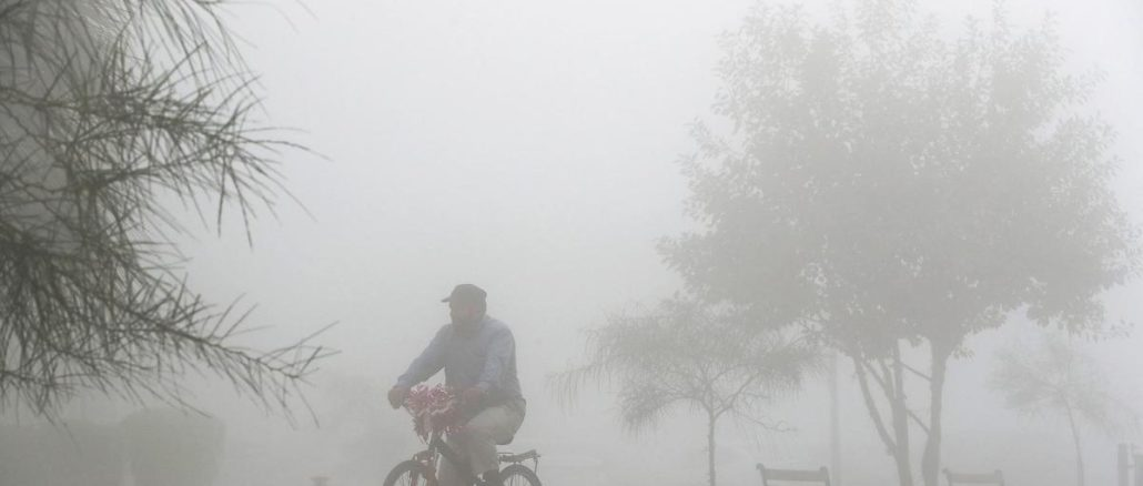 Fog expected to cause near-zero visibility in London on Tuesday morning