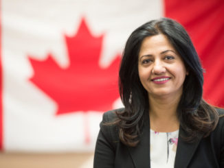 Sonia Sidhu Congratulates Canada Lifeline On 20 Years Of Service