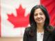 Sonia Sidhu Congratulates Canada Lifeline On 20 Years Of Service
