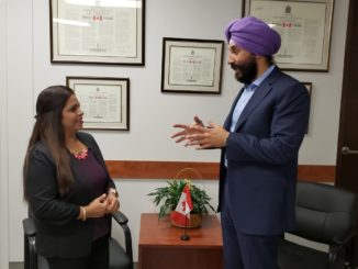 Watch Minister Navdeep Bains on Headline Canada on Friday at 7:30 pm