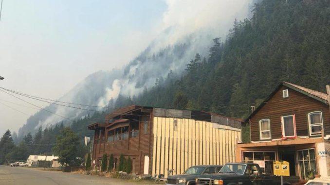 Evacuation order issued over landslide danger in Zeballos, B.C.
