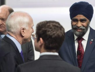 Harjit Sajjan attends John McCain's funeral, hails him as a 'friend to Canada'