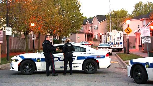 GunShots Heard During Dramatic Police Takedown in Brampton