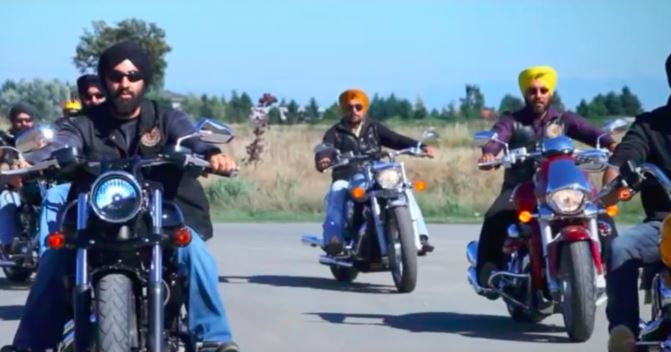 ontario sikhs turban bike helmet issue