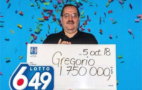 canadian man won lottery