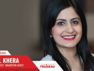 Kamal Khera Will Represent Brampton West Again As 2019 Federal Liberal Candidate