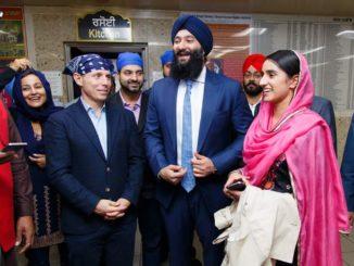 MPP Prabmeet Sarkaria Tabled Bill Regarding Helmet Exemption For Sikhs In Ontario