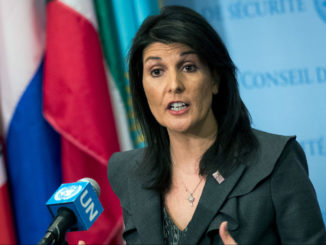 Nikki Haley Resigns As U.S. Ambassador To The UN