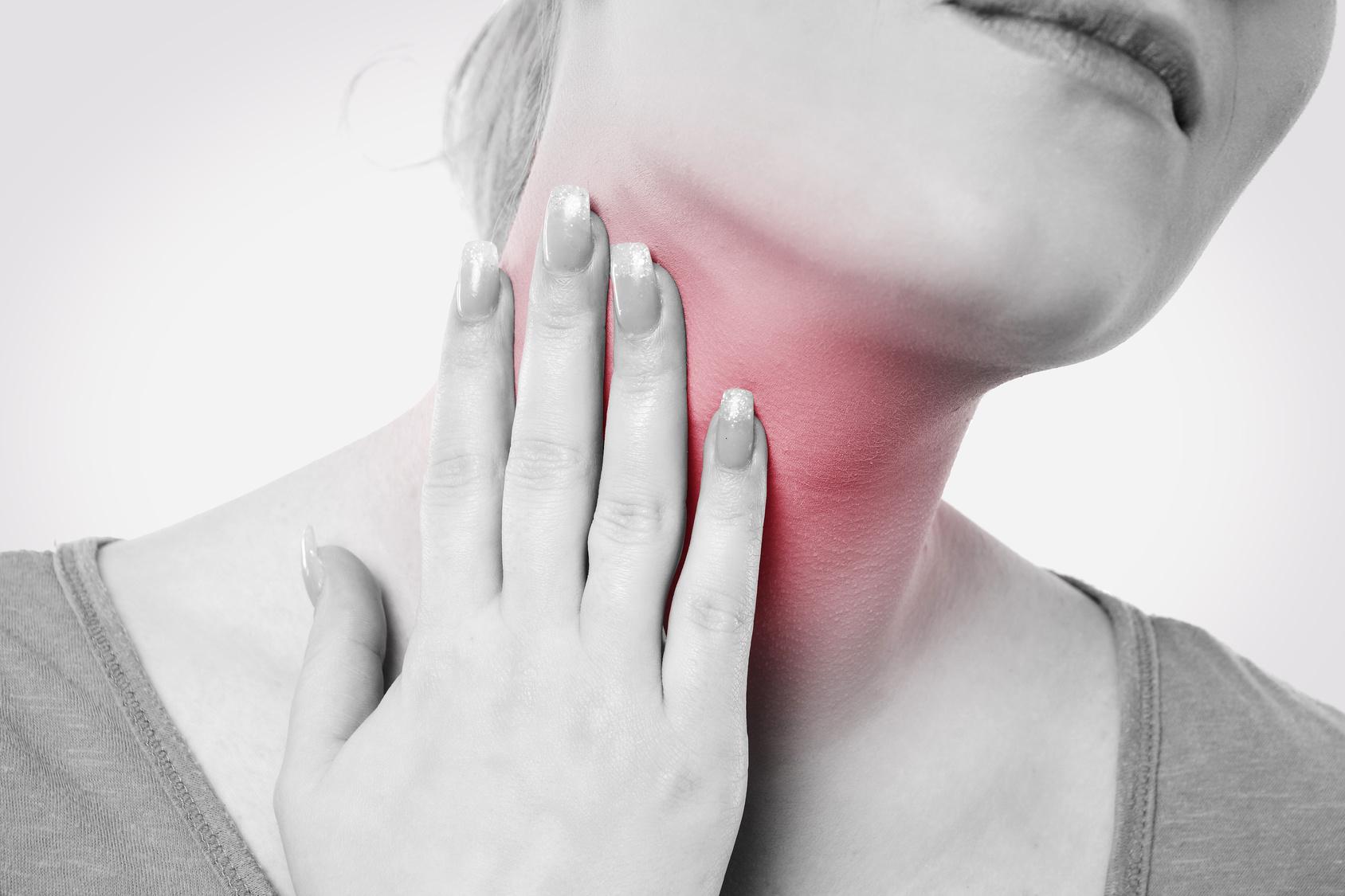 Beschwerden im Hals