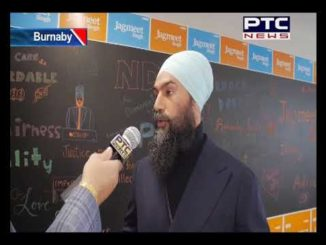 agmeet Singh Speaks to PTC News on South Burnaby Federal By Election Vancouver