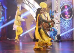 Nisha Khan Dancing In Miss PTC Punjabi 2018