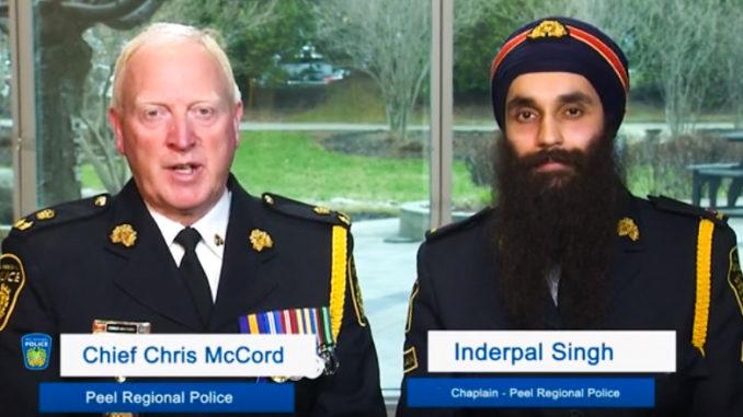 Peel Regional Police Honours 320 Years Of Sikh History - PTC Punjabi