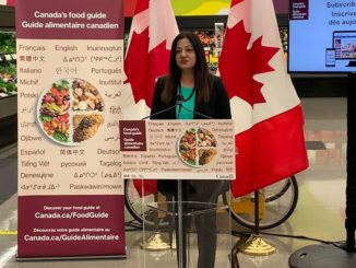 Brampton : Minister of Health and MP Sonia Sidhu unveils Canada's Food Guide Snapshot in 26 languages