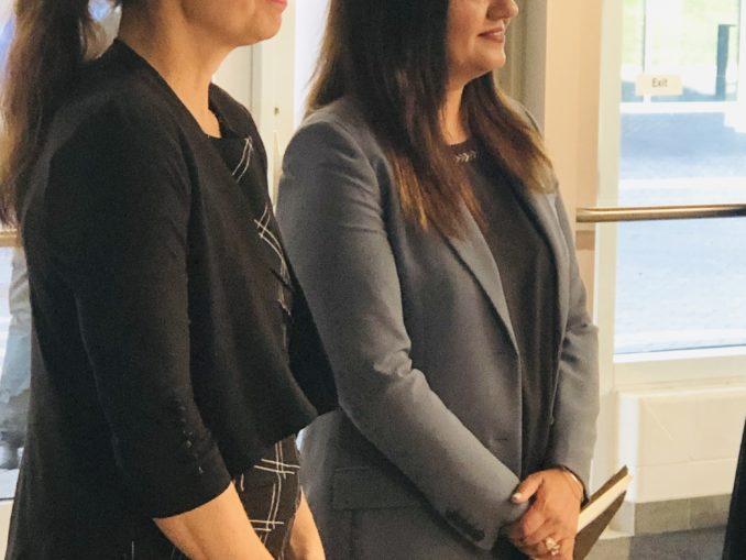 Minister Kirsty Dunken Sheridan College Funding Sonia SIdhu