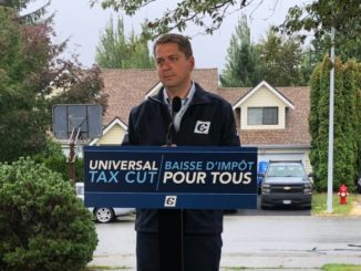 Conservative Leader Andrew Scheer promises universal tax cut