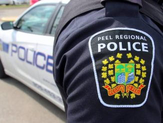 Male suspect steals vehicle with 2 young children in Brampton