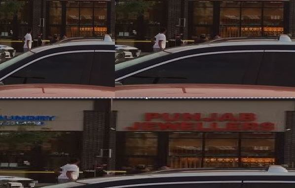 Watch Video : Jewelry shop in Brampton robbed, suspects fled the scene