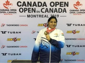 Veena Arora becomes the first Indian woman to win gold medal in Canada Open Games 2019