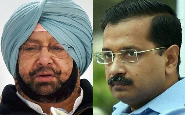 An Obvious Political Stunt with Eye on Delhi Polls, Says Capt Amarinder on Kejriwal's Anti-Pollution Protests