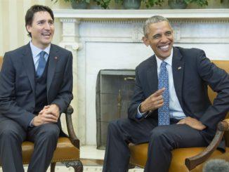 Barack Obama Just Endorsed Justin Trudeau