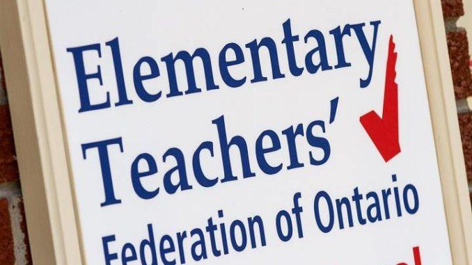 Ontario elementary school teachers vote for strike action