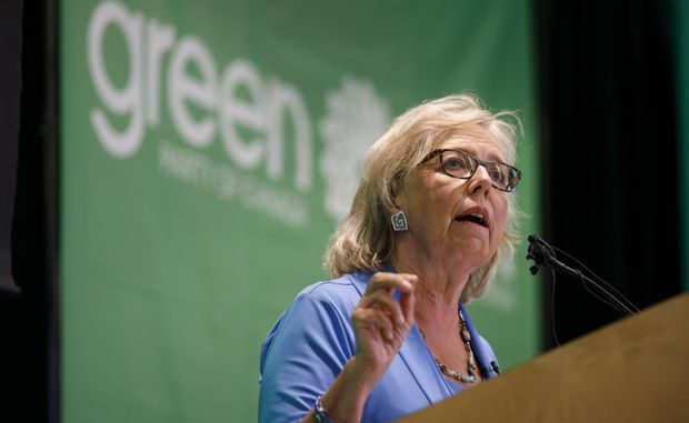 Federal Green Party Leader Elizabeth May resigns as Party Leader