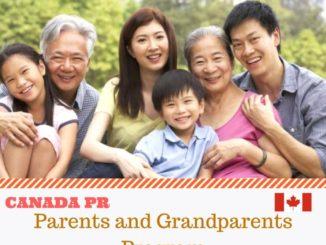 parents grandparents visa canada