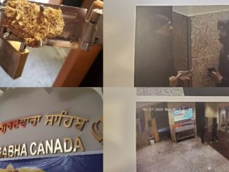 man wanted for break in and stealing money from Scarborough gurudwara