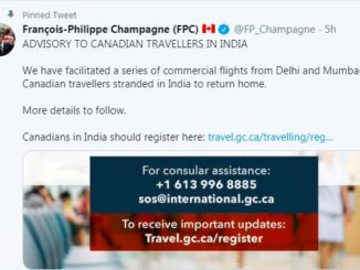 Advisory issued to Canadian travelers in India and Pakistan