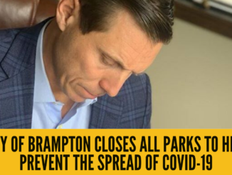 City of Brampton closes all parks to help prevent the spread of COVID-19
