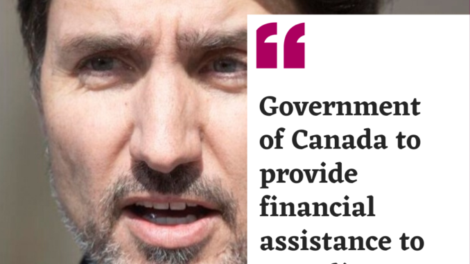 Government of Canada to provide financial assistance to Canadians abroad