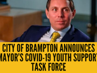 City of Brampton announces Mayor's COVID-19 Youth Support Task Force