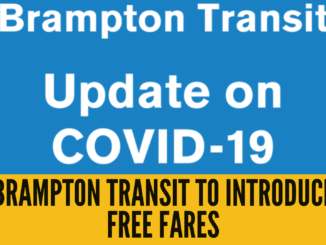 Brampton Transit to introduce free fares, rear boarding, half capacity buses and more, effective March 21 and March 23
