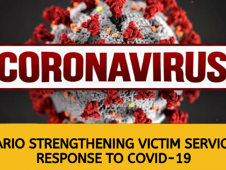 Ontario Strengthening Victim Services in Response to COVID-19