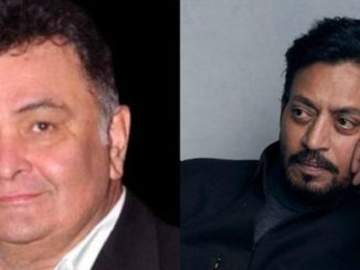 His death comes a day after actor Irrfan Khan's passing.