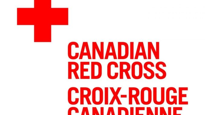 Prime Minister announces support for the Canadian Red Cross