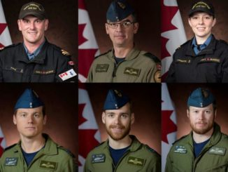 Statement by the Prime Minister on the loss of six Canadian Armed Forces members