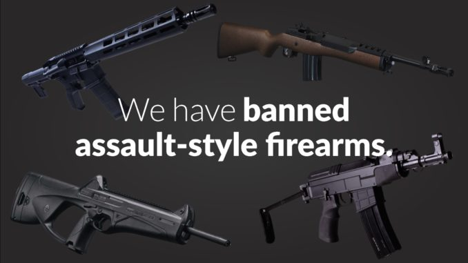 Feds unveil ban on 1,500 'assault-style' firearms