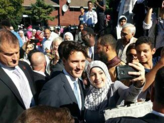 """On behalf of our family, Sophie and I wish all those celebrating a joyful Eid."" - Justin Trudeau"