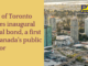 City of Toronto issues inaugural social bond, a first in Canada's public sector