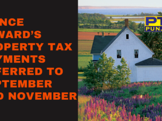 Prince Edward's property tax payments deferred to September and November