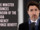 Prime Minister announces extension of the Canada Emergency Response Benefit