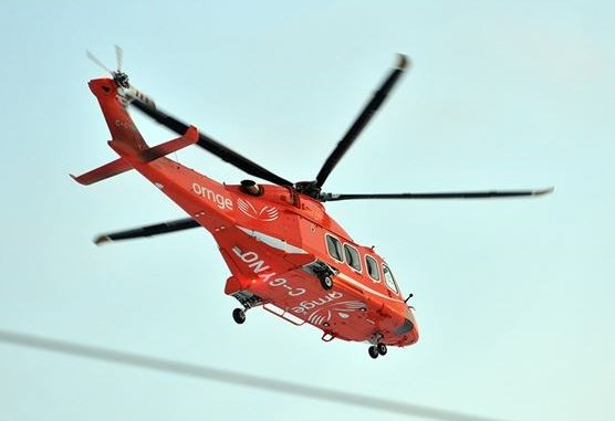 Driver airlifted to hospital following Brampton crash