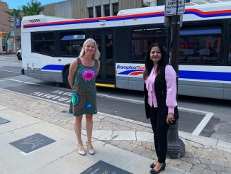 Federal Government will invest $45 Million to support four public transit projects in Brampton - says Sonia Sidhu.
