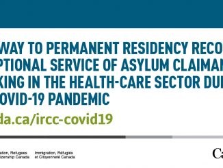 Pathway to permanent residency recognizes exceptional service of asylum claimants on front lines of COVID-19 pandemic