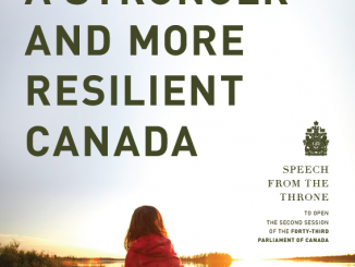Speech from the Throne to open the Second Session of the Forty-Third Parliament of Canada