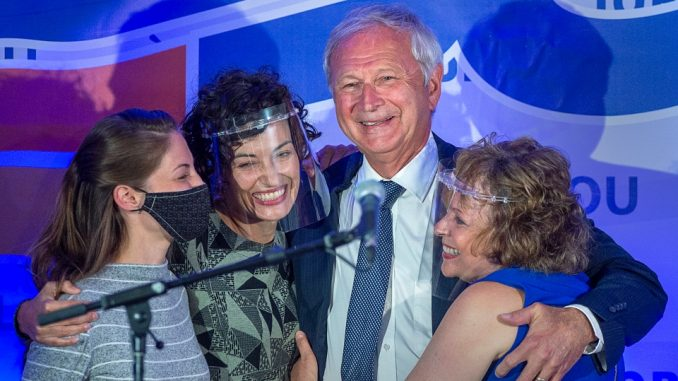 Progressive Conservatives win majority in New Brunswick election race